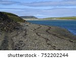 rocky coast of the barents sea | Shutterstock . vector #752202244