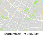 city map. vector illustration | Shutterstock .eps vector #752209639