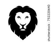 lion head vector illustration | Shutterstock .eps vector #752220640