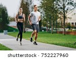 athletes run  training          ...   Shutterstock . vector #752227960
