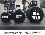 motivational and inspirational... | Shutterstock . vector #752249944
