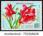 equatorial guinea   circa 1976  ... | Shutterstock . vector #752268628