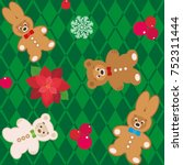 Seamless Vector Holiday Patter...