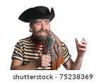 Singer Dressed As Sea Pirate...