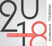 best wishes   abstract retro... | Shutterstock .eps vector #752384260