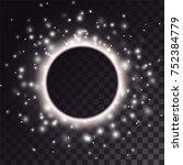 black hole light effect.... | Shutterstock .eps vector #752384779
