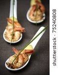 prawns snack | Shutterstock . vector #75240808