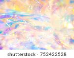 abstract magical pastel colored ... | Shutterstock . vector #752422528