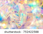 abstract radiant cheerful disco ... | Shutterstock . vector #752422588