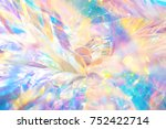 abstract cheerful fancy festive ... | Shutterstock . vector #752422714