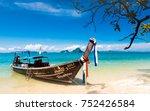 krabi thailand oct 18 transport ... | Shutterstock . vector #752426584