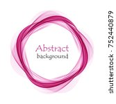 abstract background with pink...   Shutterstock .eps vector #752440879