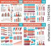 infographic business design... | Shutterstock .eps vector #752442286