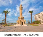 izmir clock tower. the famous... | Shutterstock . vector #752465098