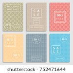 collection of sale banners ... | Shutterstock .eps vector #752471644