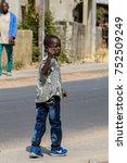 oussouye  senegal   apr 30 ... | Shutterstock . vector #752509249