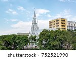 beautiful la ermita church in...   Shutterstock . vector #752521990
