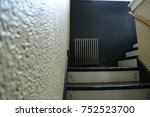 staircase view from steps. | Shutterstock . vector #752523700
