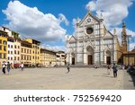 florence italy   july 24 2017   ... | Shutterstock . vector #752569420