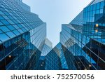 architectural elevation ... | Shutterstock . vector #752570056