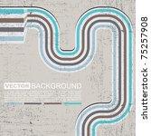 Retro Grunge Background   Vector