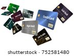 choosing the right credit card... | Shutterstock . vector #752581480