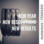 motivational and inspirational... | Shutterstock . vector #752601343