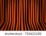 halloween background striped... | Shutterstock . vector #752621230
