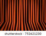 halloween background striped... | Shutterstock . vector #752621230