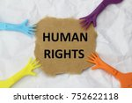 Small photo of Human rights concept