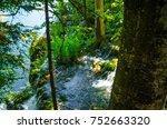 plitvice lakes landscape | Shutterstock . vector #752663320