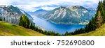 achensee lake in austria  ... | Shutterstock . vector #752690800