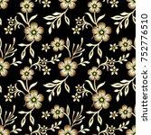 seamless floral pattern | Shutterstock . vector #752776510