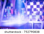 blurred for background. ibiza...   Shutterstock . vector #752790838