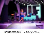 blurred for background. ibiza... | Shutterstock . vector #752790913