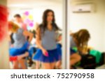 blurred for background. ibiza... | Shutterstock . vector #752790958