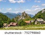 beautiful summer view on mala... | Shutterstock . vector #752798860