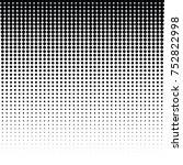 vector halftone for backgrounds ... | Shutterstock .eps vector #752822998