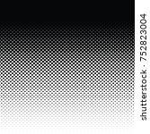 vector halftone for backgrounds ... | Shutterstock .eps vector #752823004