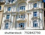 baroque facade  vienna  austria | Shutterstock . vector #752842750