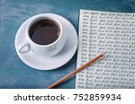 blog  blog  blog  blogging... | Shutterstock . vector #752859934