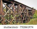 Small Trestle Bridge Of The...