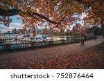 stanley park vancouver fall | Shutterstock . vector #752876464
