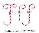 candy font  vector illustration ... | Shutterstock .eps vector #752876968