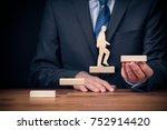 personal development  personal... | Shutterstock . vector #752914420