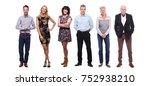 happy caucasian family | Shutterstock . vector #752938210