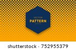 vector halftone for backgrounds ... | Shutterstock .eps vector #752955379