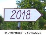 2018   signpost  roadsign | Shutterstock . vector #752962228