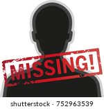 Silhouette Missing Person With...