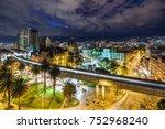 plaza botero square and...   Shutterstock . vector #752968240